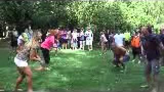 ray and evie 5th golfcart rally at Sherkston Shores