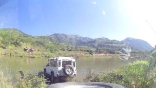 4x4 day, Inchanga, Valley of 1000 hills near Durban, South Africa