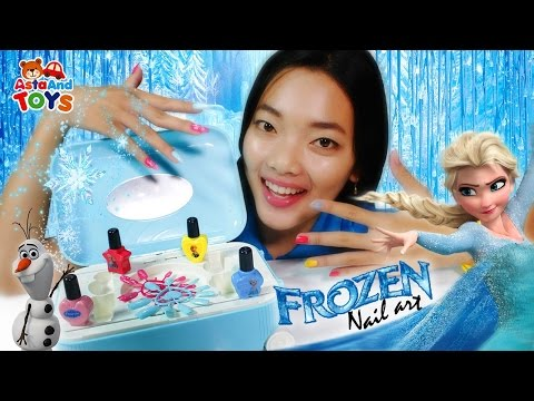 Xxx Mp4 Disney Frozen Nail Art Bersama Kak Alis Asta And Toys 3gp Sex