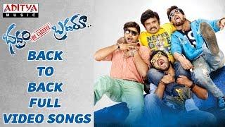 Bhadram Be Careful Brotheru Full Video Songs B2B || Sampoornesh Babu,Charan Tez,Hameeda