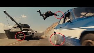 Fast and Furious 6 MISTAKES