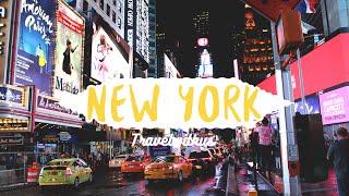미국 배낭여행 뉴욕편 NEW YORK Travel with us : VLOG