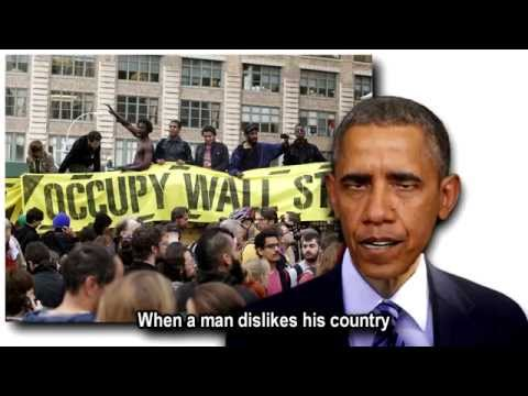 Obama sings When a Man Dislikes His Country
