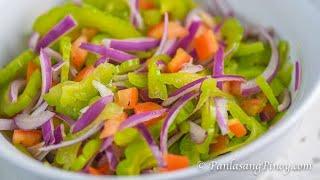 Ampalaya Salad - Panlasang Pinoy