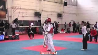 58kg Futcan Aldemir vs D. Demir (2016 Turkish Senyor Taekwondo Team Elections)
