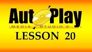 تعلم AutoPlay Media Studio و برمجة تطبيقات الويندوز - 20 - تطبيق الدوران في المصفوفه من خلال for