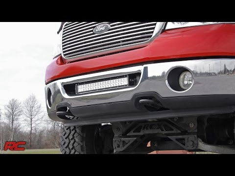 2006-2008 Ford F-150 20-inch LED Light Bar Bumper Mount by Rough Country