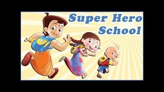 Super Heros Chhota Bheem, Mighty Raju & Luv Kushh at School!