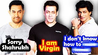 Top 10 Most SHOCKING Confessions By Bollywood Celebrities 😮