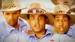 Sourav Ganguly Rahul Dravid Yuvraj Laxman Harbhajan Zaheer l rare ad