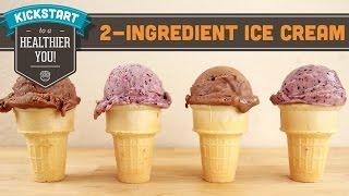 Two Ingredient No Machine Ice Cream! Mind Over Munch Kickstart Series