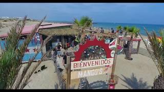 Mango's Beach bar Cap d'Agde 2017