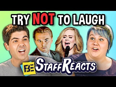 Try to Watch This Without Laughing or Grinning 11 ft. FBE STAFF