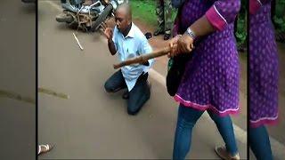 On Cam: Women thrash molester in Odisha