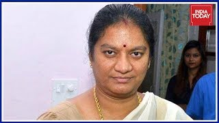 No Relief For Expelled AIADMK MP Sasikala Pushpa