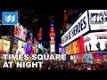 Walking Around Times Square At Night In New York City Travel Guide 【4K】