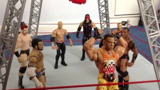 WWE Figure Animation MONEY IN THE BANK 2013 Part 1