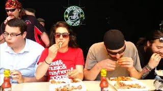 Frank's RedHot Spicy Chicken Wing Challenge Grillstock Sat 8 June