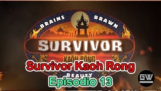 Survivor Kaoh Rong - Episodio 13 EN VIVO en YouNow May 11, 2016