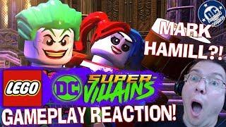 MARK HAMILL! LEGO DC Super Villains Gameplay REACTION!