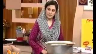 Seviyon Ka Muzafir And Bhel Puri Chaat by Chef Samina