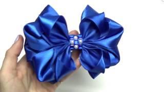DIY crafts How to Make Beauty Easy Bow | Ribbon Hair Bow Tutorial | DIY ribbon bow | Julia DIY