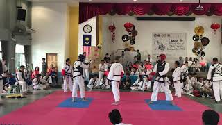 Tang Soo Do National- Raymond Jan Vs Kho Zan Hong