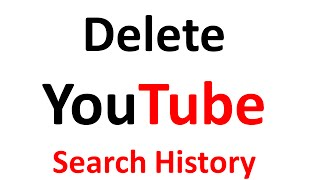How To Delete YouTube Search History in Hindi/Urdu