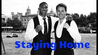 EDDIE HEARN ANNOUNCES NEXT 2 ANTHONY JOSUHA FIGHTS AT WEMBLEY STADIUM WITH OR WITHOUT WILDER