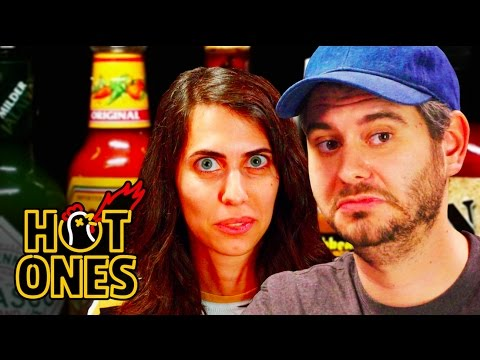 Xxx Mp4 H3H3 Productions Does Couples Therapy While Eating Spicy Wings Hot Ones 3gp Sex