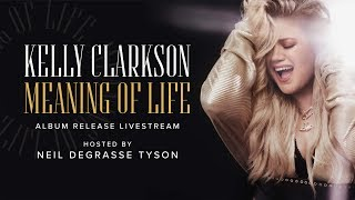 LIVE Kelly Clarkson - MEANING OF LIFE Release Event