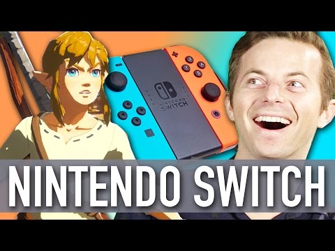 People Play The Nintendo Switch For The First Time