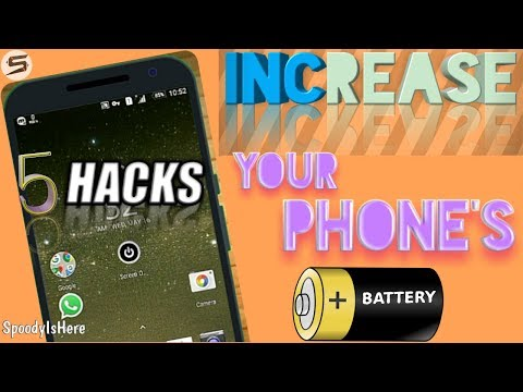 Increase Your Phone's Battery UpTo 5 Times