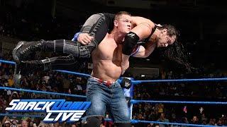 John Cena vs. Baron Corbin: SmackDown LIVE, Jan. 10, 2017