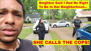 Neighbor Calls The Police on Young Investor!