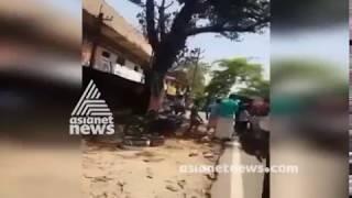 Muslim League harthal turn violent in Mannarkkad