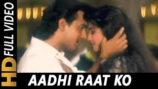 Aadhi Raat Ko Palko Ki Chhaon Mein   Lata Mangeshkar   Parampara 1993 Songs   Aamir Khan