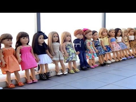 All My American Girl Dolls and How I Dress Them