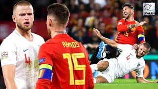 Liverpool Fans Are Super Happy After What Eric Dier Did To Sergio Ramos