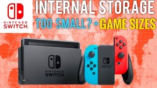 Nintendo Switch Internal Storage Too Small for Some Game Downloads + Nintendo Switch Giveaway!
