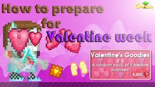 Growtopia   How to prepare for Valentine week! 2015