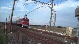 EF81-81+北斗星客車
