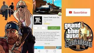 Como descargar GTA San Andeas Gratis - Android