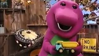 Barney falls, gets hurt, and cries like a baby  (Barney Safety Version)