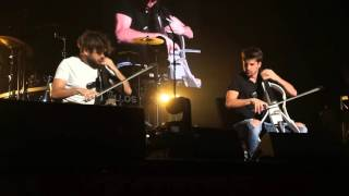 2CELLOS Human Nature and Smooth Criminal Spokane (Live USA Tour 2016)