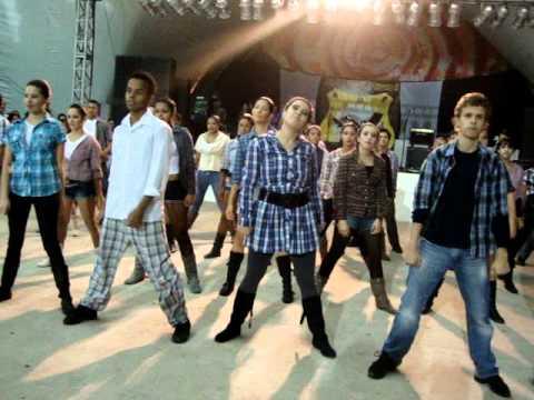 Studio de dança Cynthia Riggo funkcountry 16 07 2011