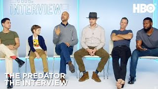 'The Predator Interview w/ Thomas Jane, Boyd Holbrook & More   HBO