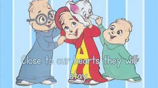 The Chipmunks - Beautiful Memories (with lyrics)