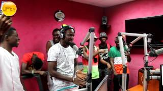 Yaa Pono Freestyle On HipHopGh Pt I [UrbanPhaceTV]