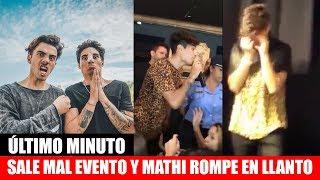Dosogas hace un evento en Córdoba, Argentina y SALE MAL *Mathi ll0ra*